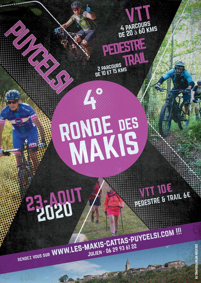 Ronde Makis Cattas 4 VTT Randonnée 2020